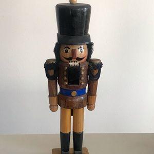 """15"""" wooden Collectible nutcracker"""